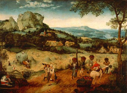 TheHayHarvest-PieterBrueghelTheElder-1565