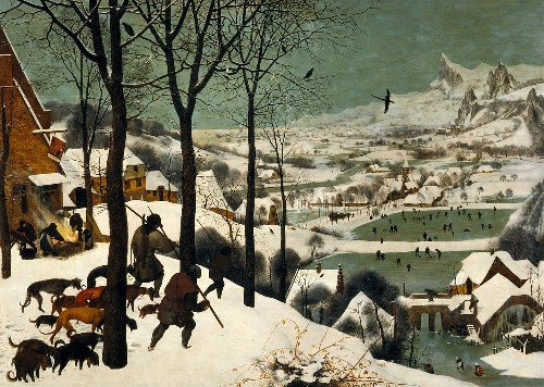 HuntersInTheSnow-PieterBruegel-c1565
