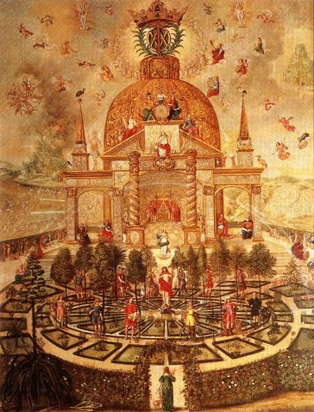 Kabbalistic-AlchemicalAltarpiece-TheCircularGarden-1673