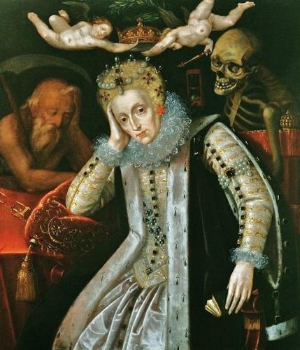 QueenElizabethFatherTime+Death-Unknown-c1620