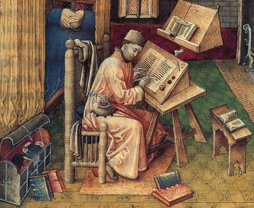 JeanMielot-IlluminatedManuscriptScribe
